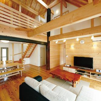 木心あふれる家づくり